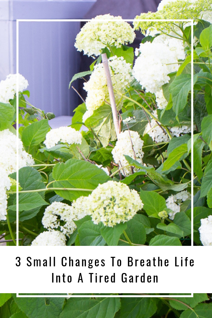 3 Small Changes To Breathe Life Into A Tired Garden