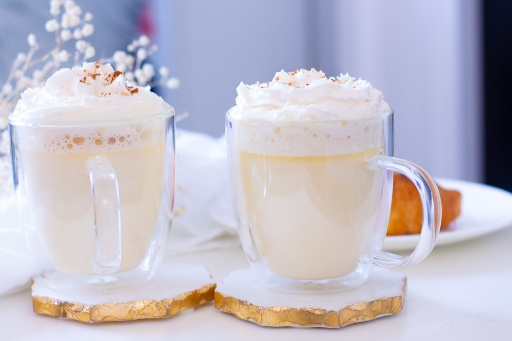 Homemade Pumpkin Pie White Hot Chocolate Recipe