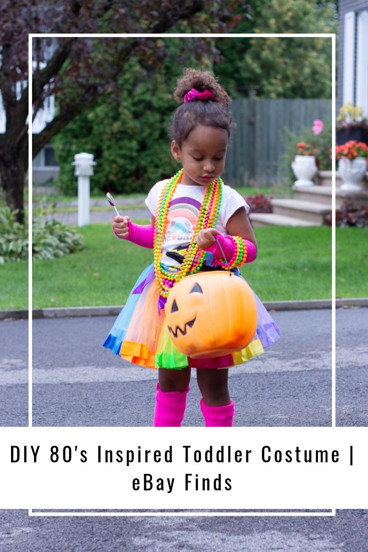 DIY 80's Inspired Toddler Costume | eBay Finds