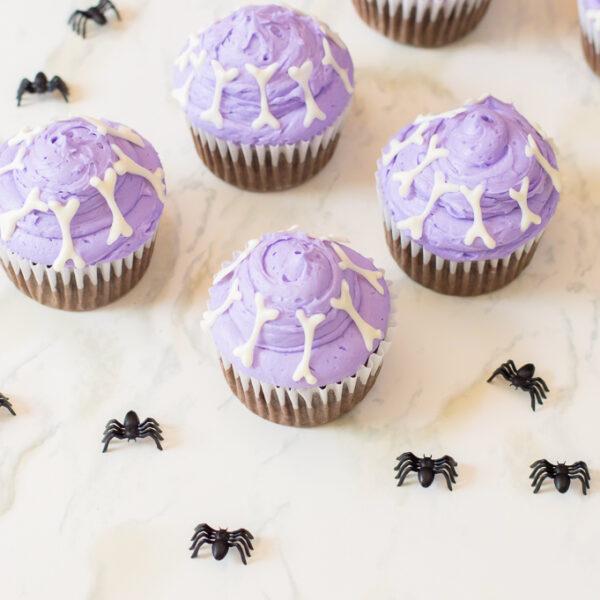 Baking With Kids | DIY Halloween Bones Cupcakes