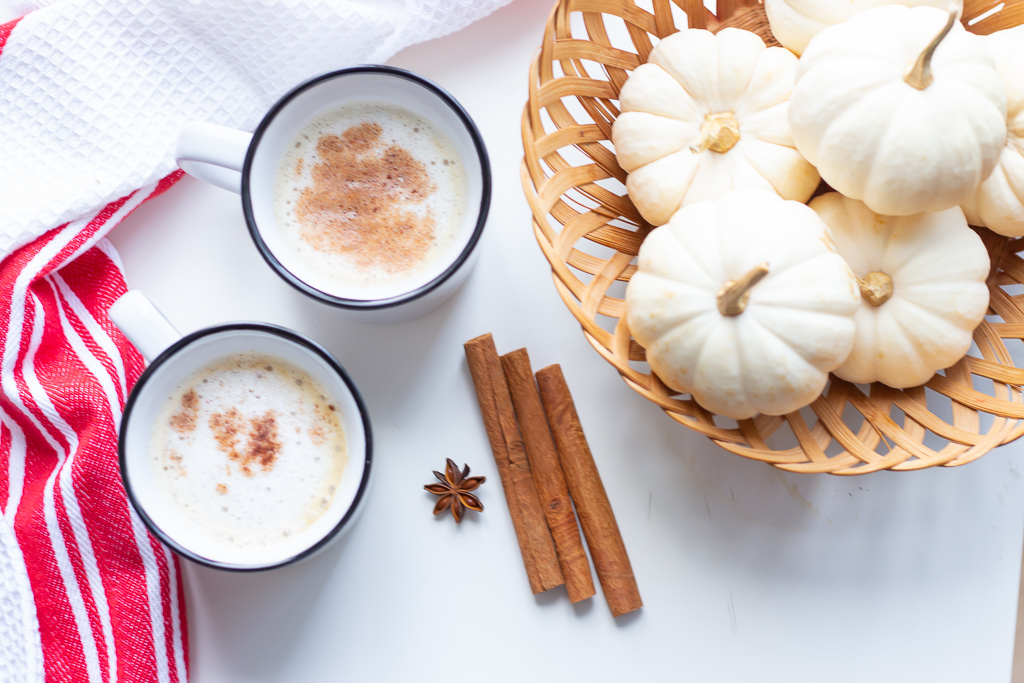 Fall Vibes | Sweet Cinnamon Milk Tea Recipe