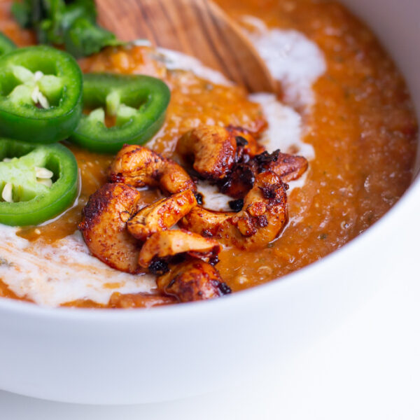 Spicy Red Lentil and Quinoa Soup Recipe
