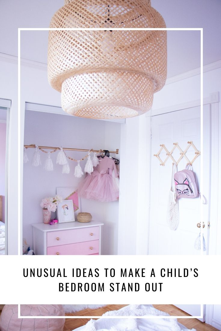 Unusual Ideas To Make A Child's Bedroom Stand Out