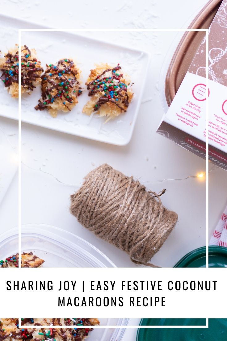 Sharing Joy | Easy Festive Coconut Macaroons Recipe