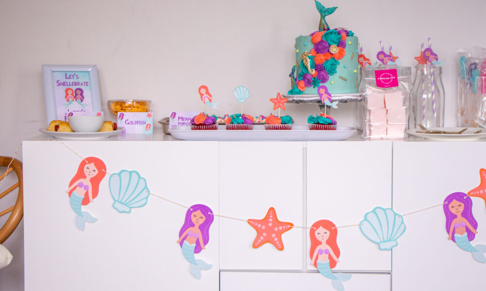 Mermaid Birthday Party For Toddlers | Happy 5th Birthday