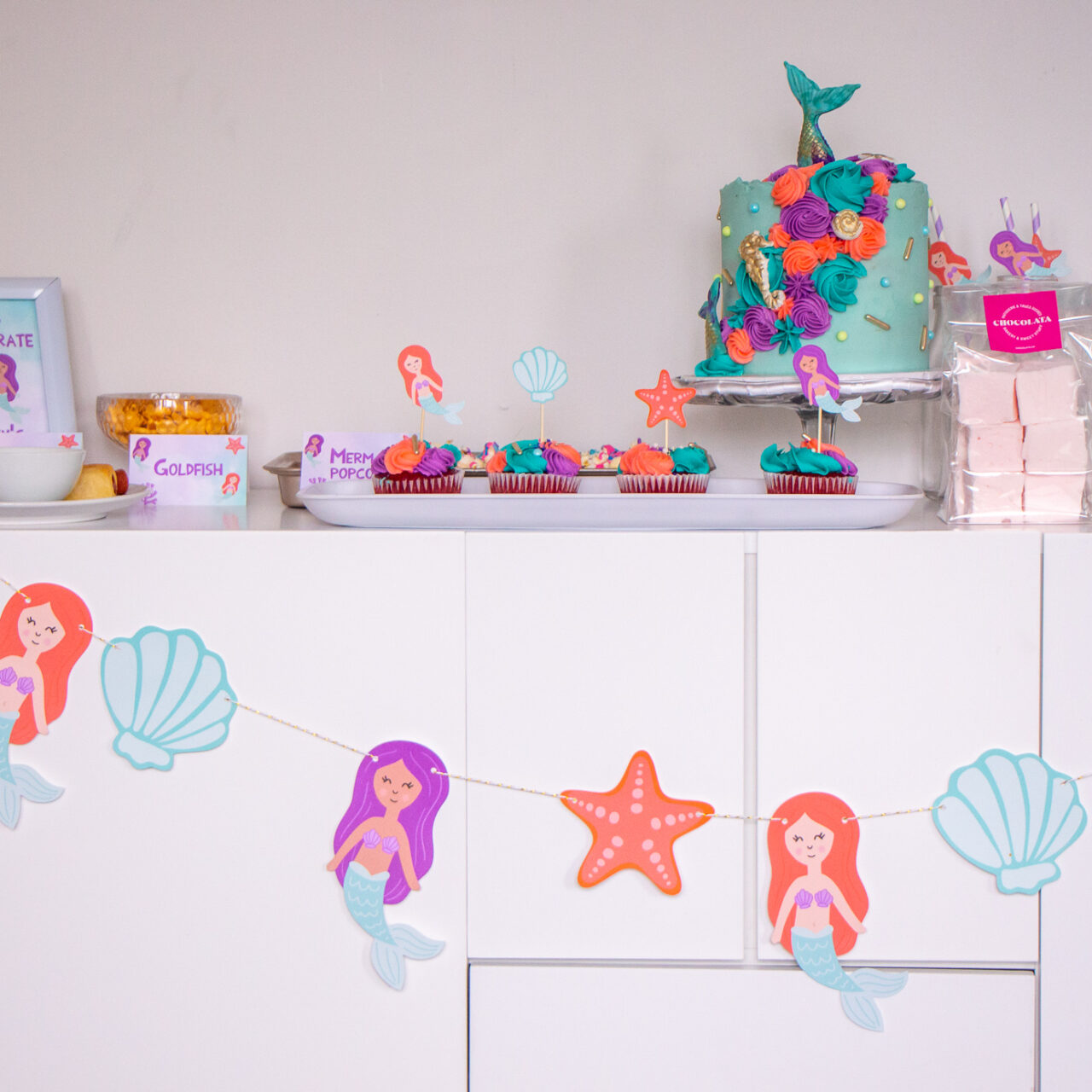 Mermaid Birthday Party | Happy 5th Birthday