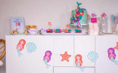 Mermaid Birthday Party | Happy 5th Birthday