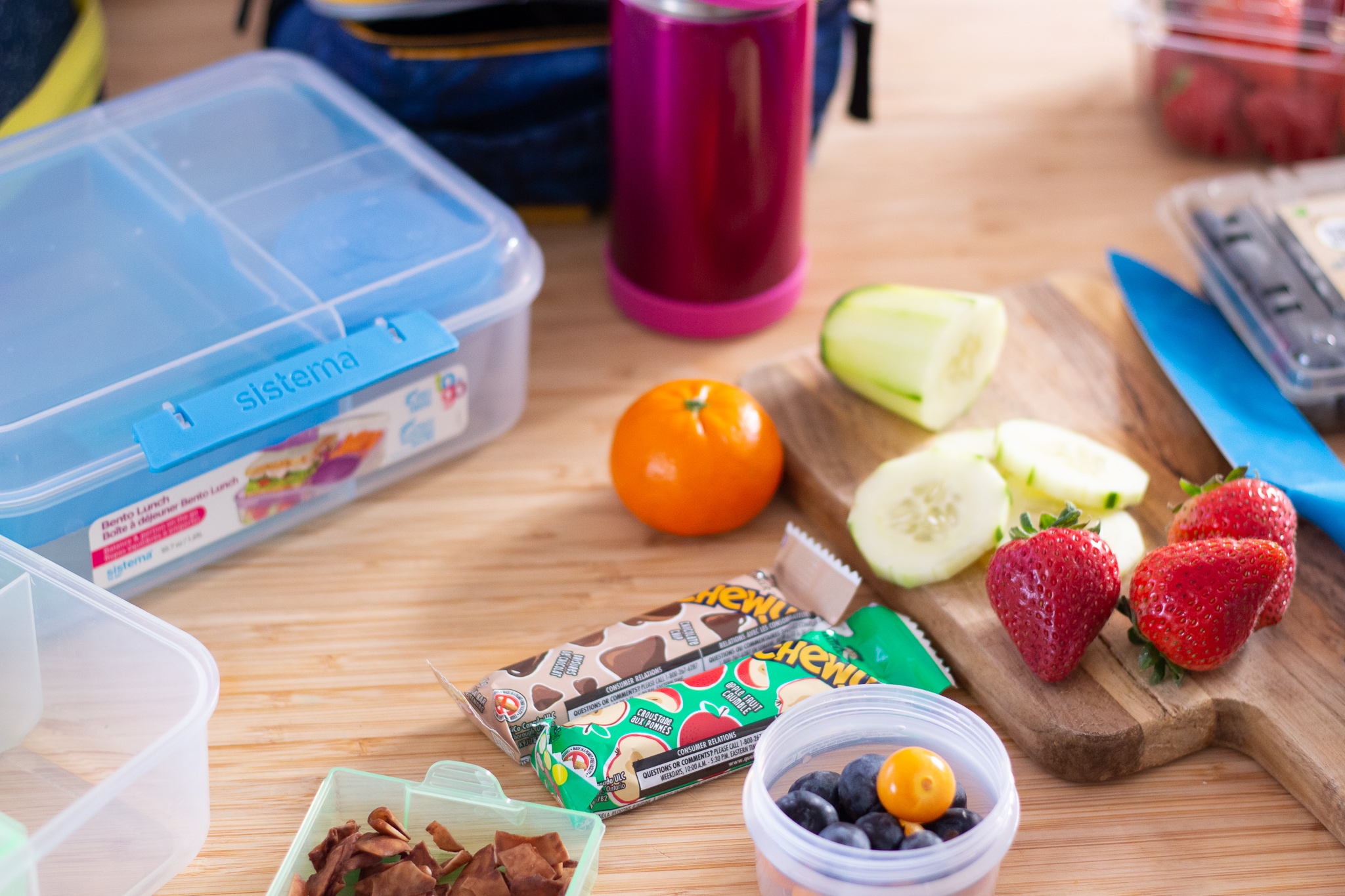 school lunch preparation